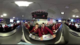 NASA InSight Mission Control Mars Landing Celebration (360 video)
