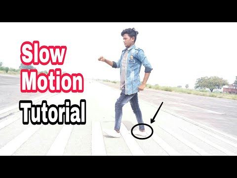 How To Do Learn  Slow Motion Dance Tutorial In Hindi I{ By  Sunny Arya }