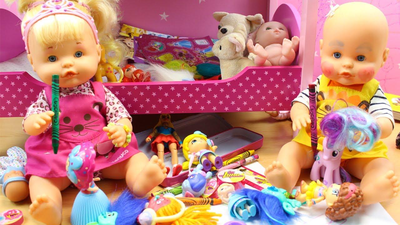 Incorporar ayer operación  Aventuras de las Bebés Nenuco Hermanitas Traviesas en la Habitación - Tarde  de Travesuras - YouTube