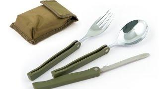 Походный набор 3 предмета (вилка, ложка,нож) (kidtoy.in.ua)(Походный набор 3 предмета (вилка, ложка,нож) Длина: 11.0 см. Ширина: 6.0 см. Высота: 3.0 см. Заказать: https://vk.com/photo-47667..., 2014-03-27T21:34:51.000Z)