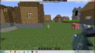 Как сделать  кота в  Minecraft