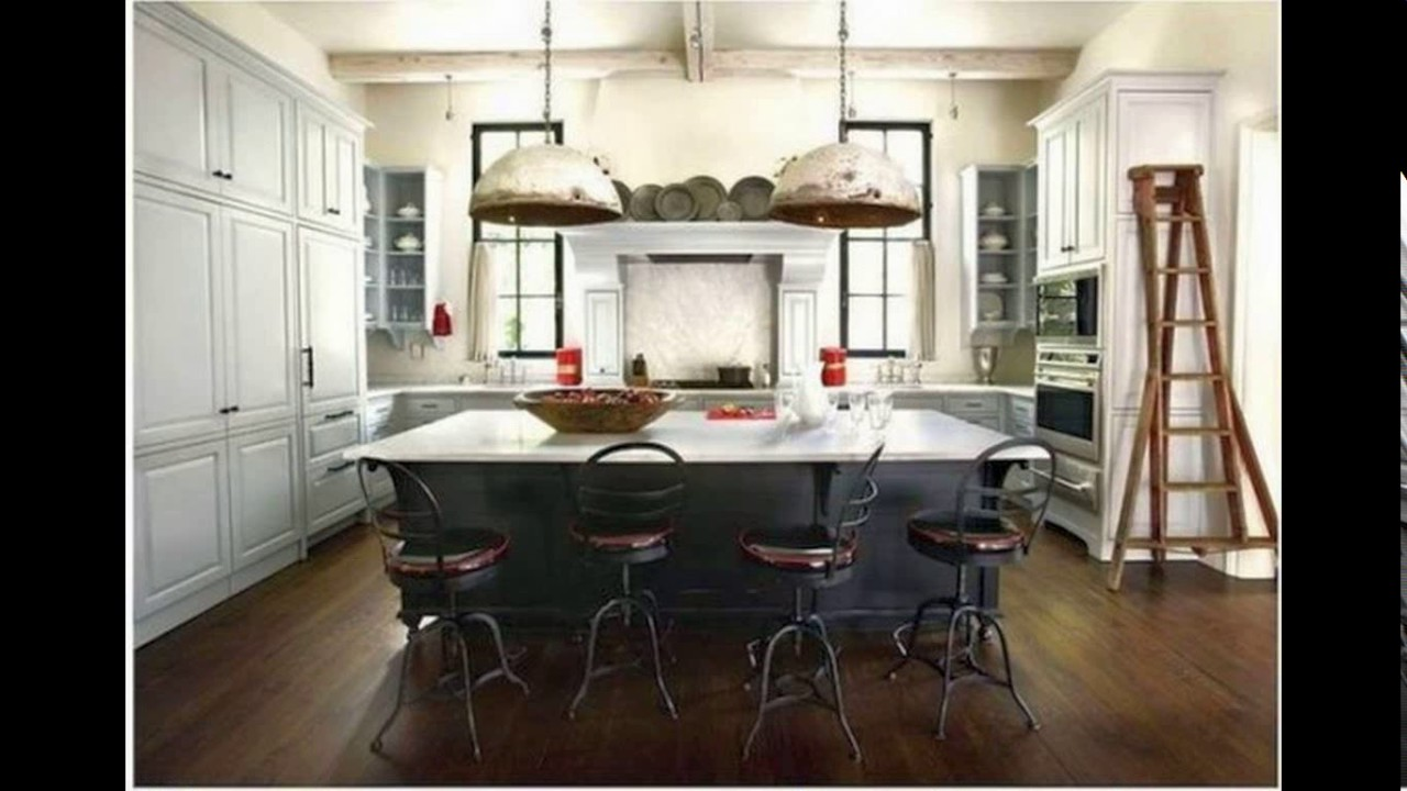 French Industrial Kitchen Design