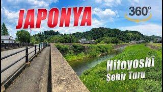 Japonya Hitoyoshi, Şehir Turu, 360 Derece Video