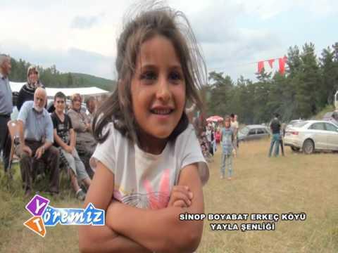 Yöremiz Töremiz - Sinop Boyabat Erkeç Köyü Yayla Şenliği 3.Bölüm
