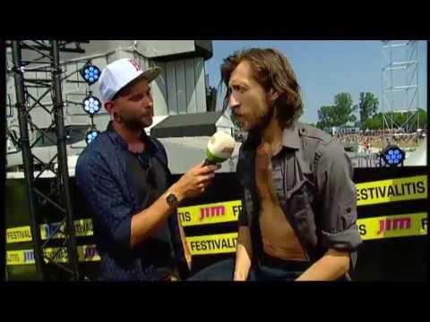 Interview Gogol Bordello @ Rock Werchter 2013