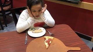 شفا أكلت كل البيتزا !!!