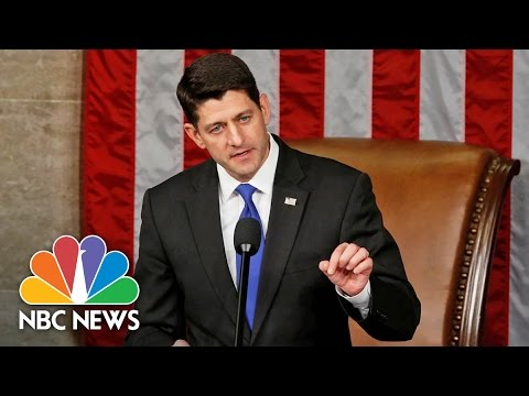 Paul Ryan Officially Sworn In As House Speaker For 115th Congress | NBC News