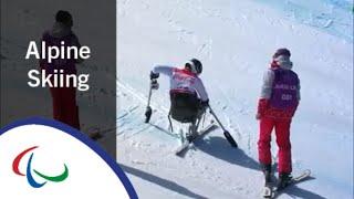 Simon WALLNER | Super-G | PyeongChang2018 Paralympic Winter Games
