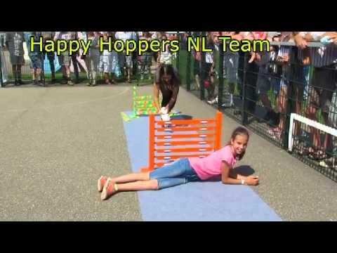 Hoogtesprong Konijn-Hop Landbouwshow Opmeer 2015