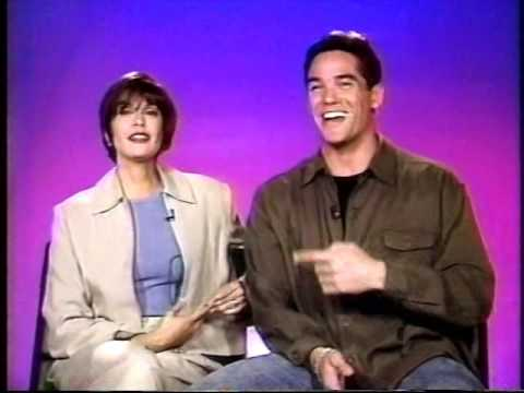 LOIS & CLARK INTERVIEW WEDDING 1996 SUPERMAN TERI HATCHER DEAN CAIN