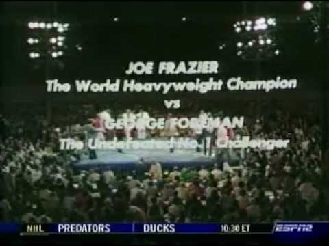 George Foreman vs Joe Frazier I