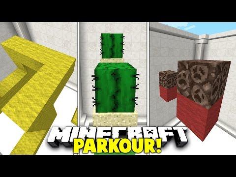 Minecraft / RED / YELLOW / GREEN / PARKOUR #2 with PrestonPlayz & Kenny