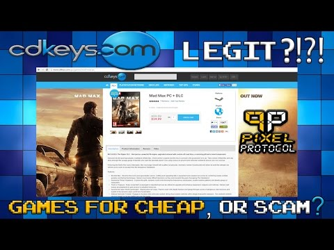CDKeys.com : Legit Or Scam? (My Experience With Them)