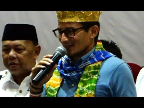 Sandiaga Uno: Singkirkan Politisi Genderuwo Mp3