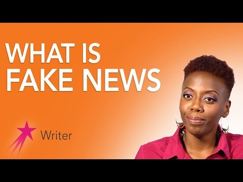 Writer: What is Fake News - Fungai Machirori Career Girls Role Model