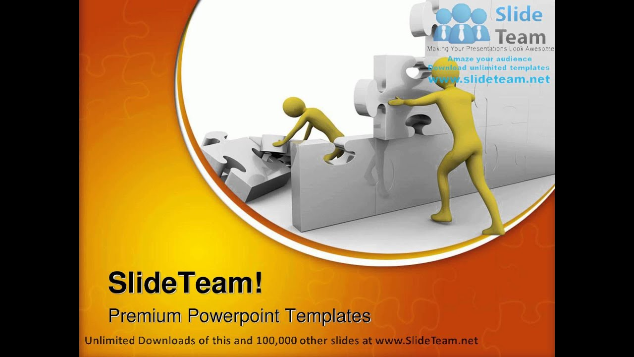 Team building up a jigsaw construction powerpoint templates themes team building up a jigsaw construction powerpoint templates themes and backgrounds ppt themes youtube toneelgroepblik Gallery