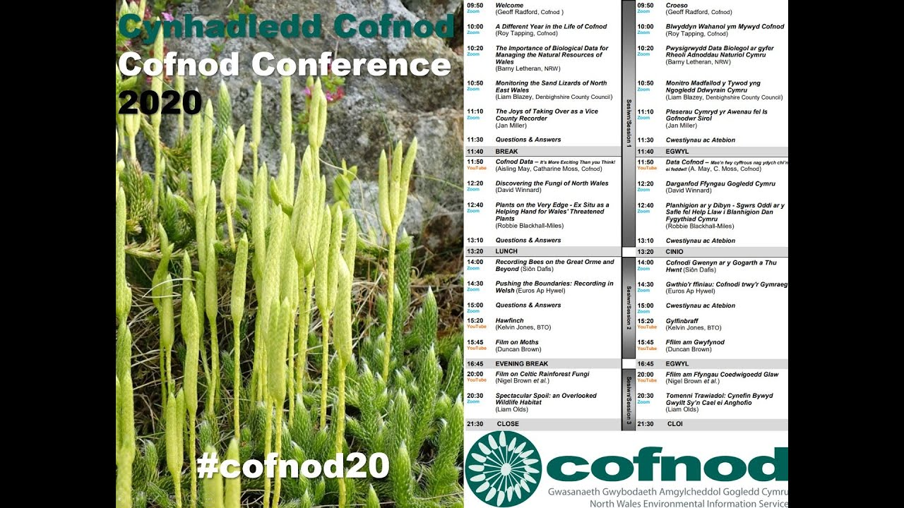 Cofnod Conference 2020 - Spectacular Spoil: An Overlooked Wildlife Habitat - Liam Olds