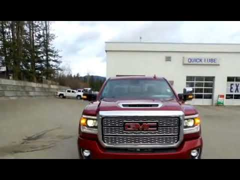 New 2018 GMC Sierra 3500HD Denali for sale in Salmon Arm, BC