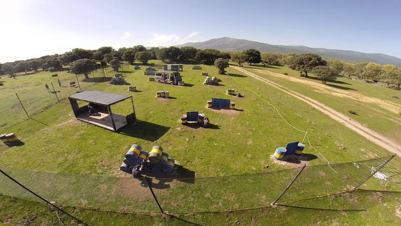 Campo oeste villalba madrid action live vista a rea for Action live paintball madrid oficinas
