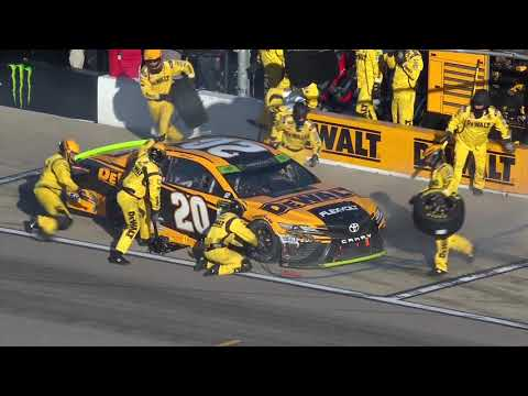 No. 20 team disqualified after pit-road penalty