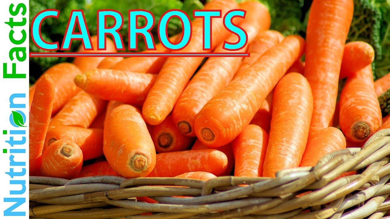 carrot nutrition facts & info - nutritional information of carrots