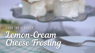 How to Make Classic Lemon-Cream Cheese Frosting