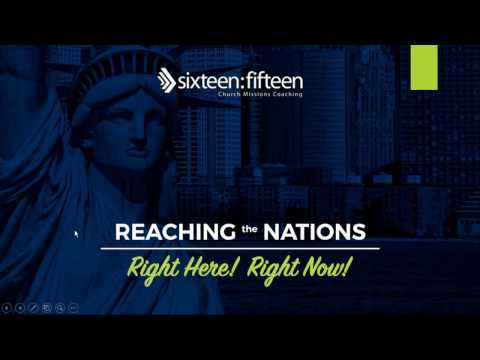Webinar | Reaching the Nations - Right Here! Right Now!