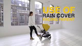 Protector de lluvia Compatible con sincronizaci/ón de Mamas /& Papas