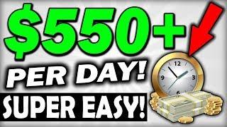EARN $550+ 🔥💰PER DAY💰🔥 On Autopilot *SUPER EASY* (MAKE MONEY ONLINE)