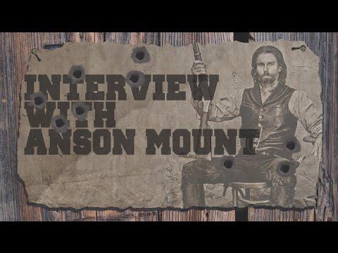 Anson Mount Hell On Wheels   AfterBuzz TV's Spotlight On