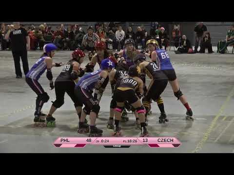 Roller Derby World Cup 2018 Philippines vs. Czech Republic