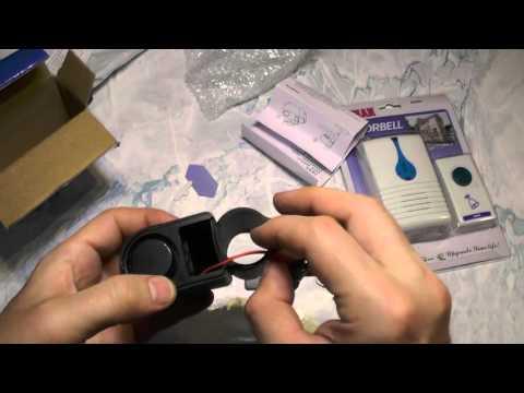 видео: Посылка №271 Сигнализация и беспроводной пульт. Дверной звонок