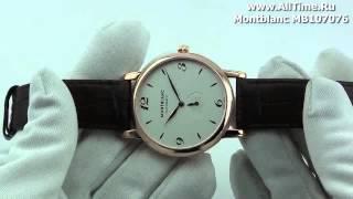 Обзор. Мужские наручные часы Montblanc MB107076