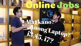 Best Budget Laptops for Data Entry, Photo Video editing, Virtual assistant - Online jobs Philippines