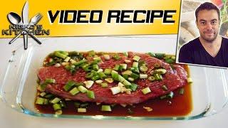 Teriyaki Steaks - Video Recipe