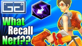 HOTS Tracer Recall NERF! Does it matter?! Heroes of the Storm Tracer Gameplay