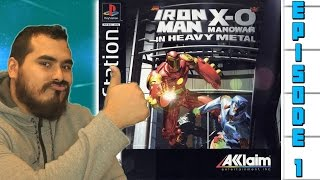 Iron Man and X-O Manowar in Heavy Metal Review