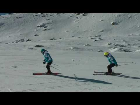 European ski school - Les 2 Alpes - Children Ski Group Lessons from YouTube · Duration:  2 minutes 7 seconds