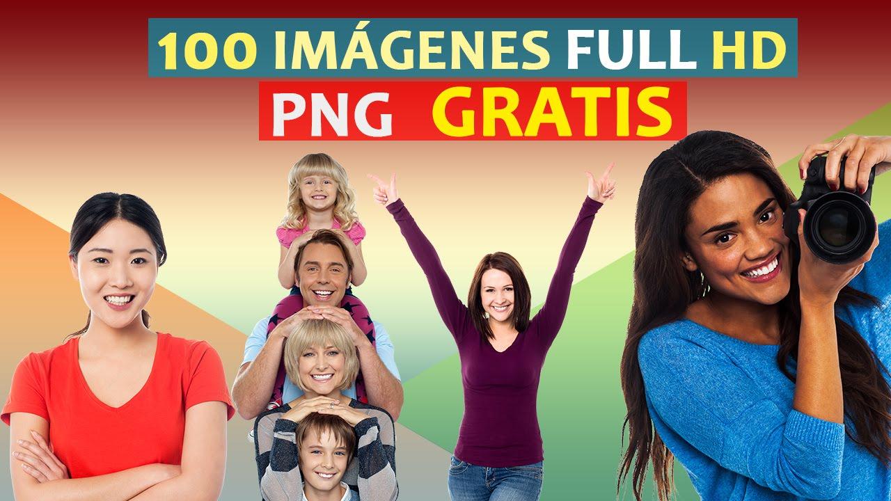 Pack 100 imágenes PNG full HD │SIN DERECHOS DE COPYRIGHT