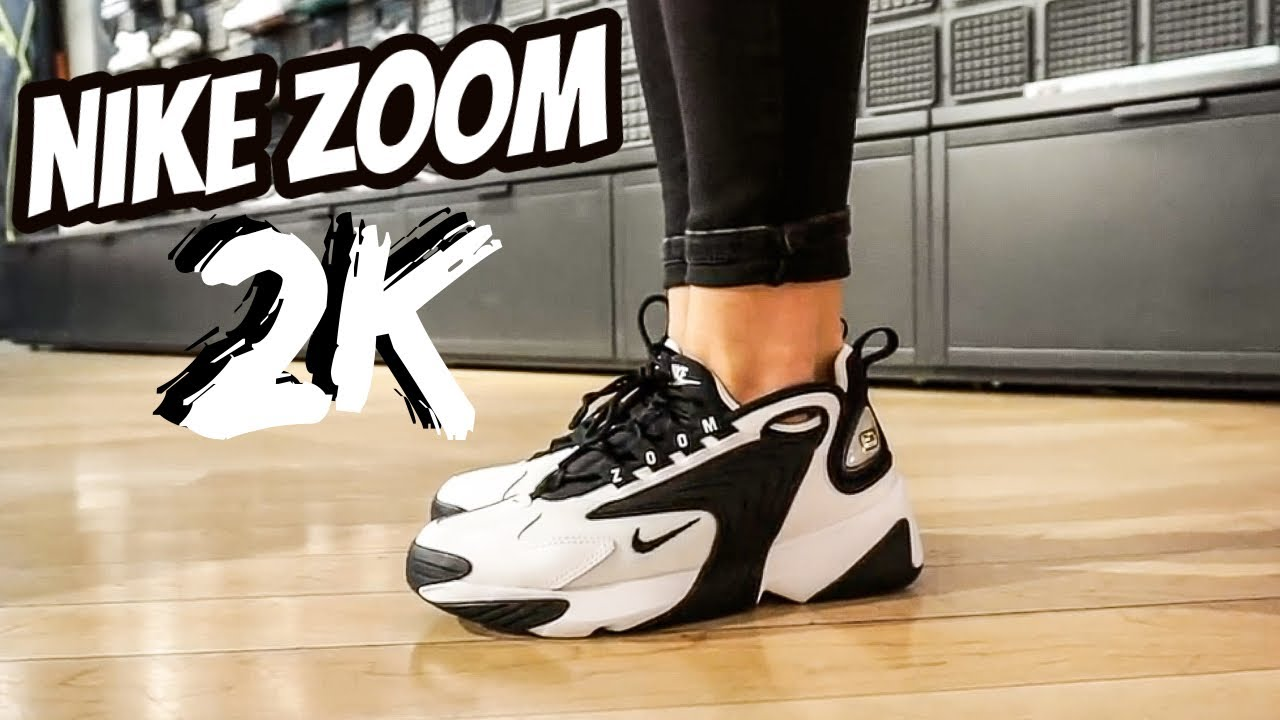 Renacimiento Caducado promedio  NIKE ZOOM 2K REVIEW & ON FEET EN ESPAÑOL - YouTube