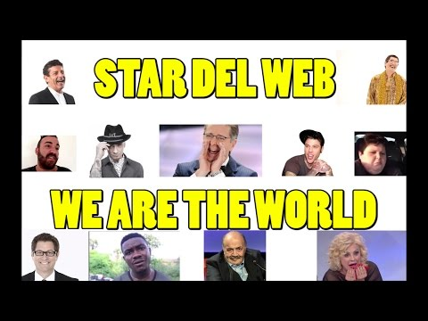WE ARE THE WORLD - USA FOR AFRICA FEAT.STAR DEL WEB ( HIGHLANDER DJ EDIT)