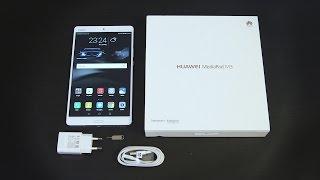 huawei MediaPad M3 unboxing