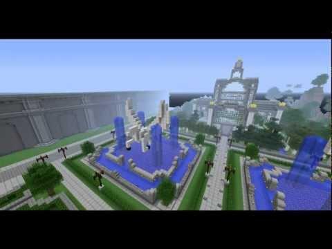 Mega ciudad imperial - minecraft mapa