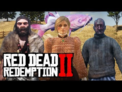 The Most Mysterious Ped Models (Red Dead Redemption 2) |