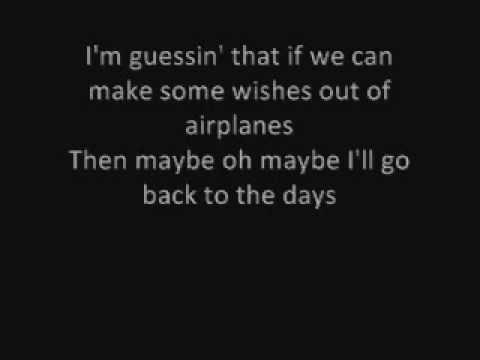 B.O.B - Aeroplanes Lyrics