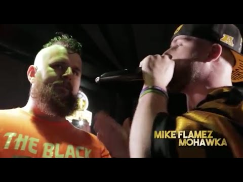 Mike Flamez vs. Mohawka - Full Rap Battle (HD)