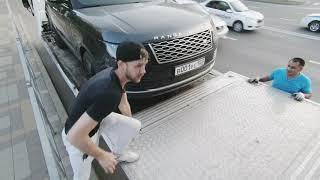 Перевозка Range Rover Vogue  с Краснодара в Сургут на мерседесе  Rangerover Mercedesbenz Diamond