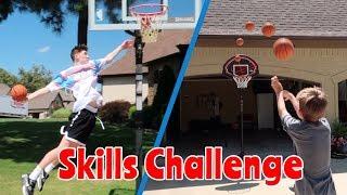 Insane Basketball Skills Challenge! | Nea Blitzball