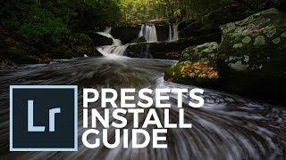 Your Lightroom Presets Installation Guide