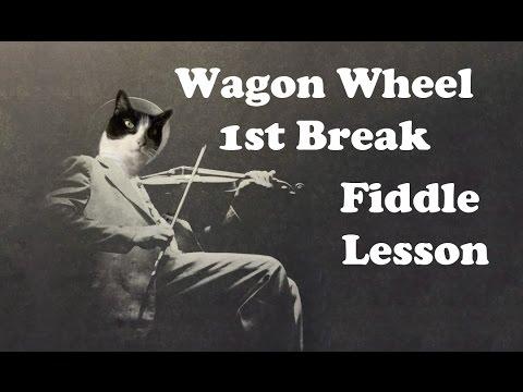 Wagon Wheel - 1st Solo Break for Fiddle Lesson